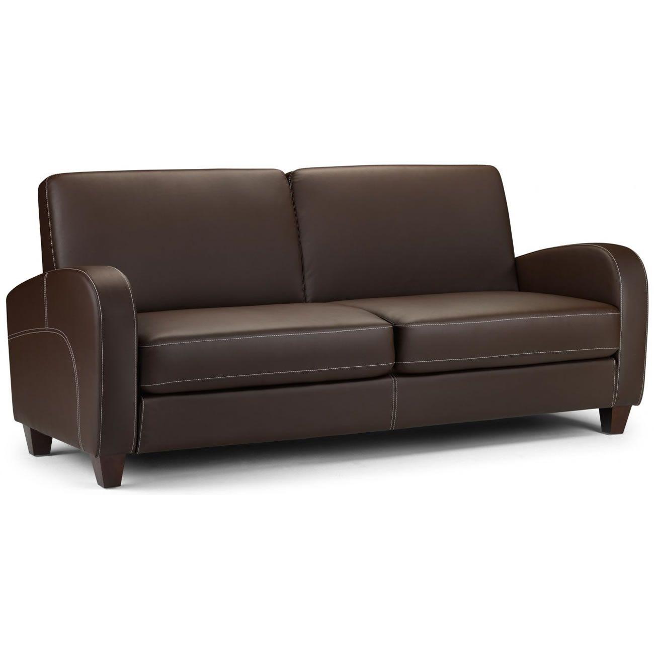 Vivo 3 Seater Leather Sofa Sofasworld
