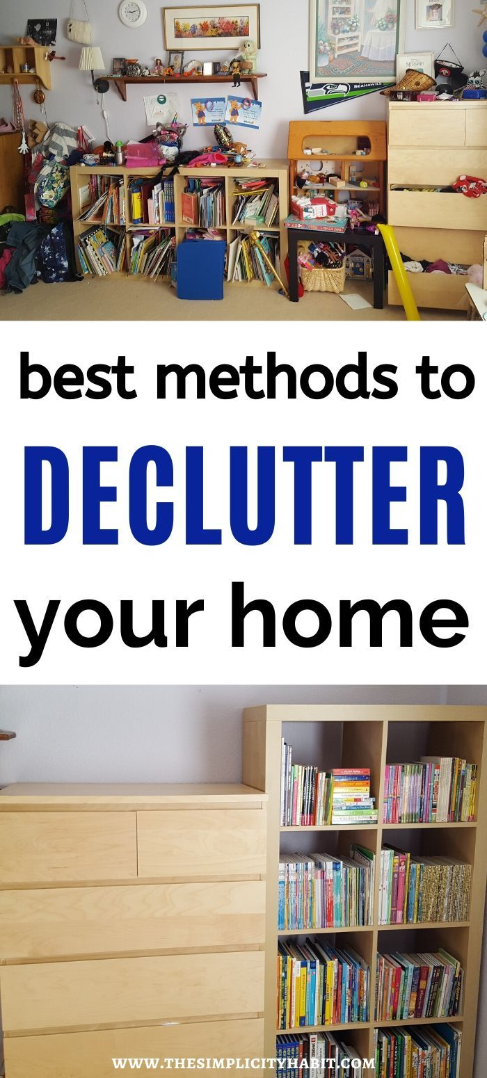 Best methods to declutter your home