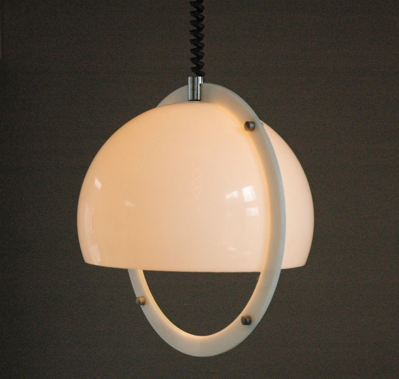 italian plexiglass pendant by harvey guzzini luce design pinterest. Black Bedroom Furniture Sets. Home Design Ideas