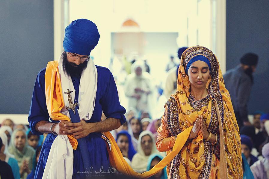 Marvelous The Traditional Sikh Wedding Capture The Moment Pinterest Short Hairstyles Gunalazisus