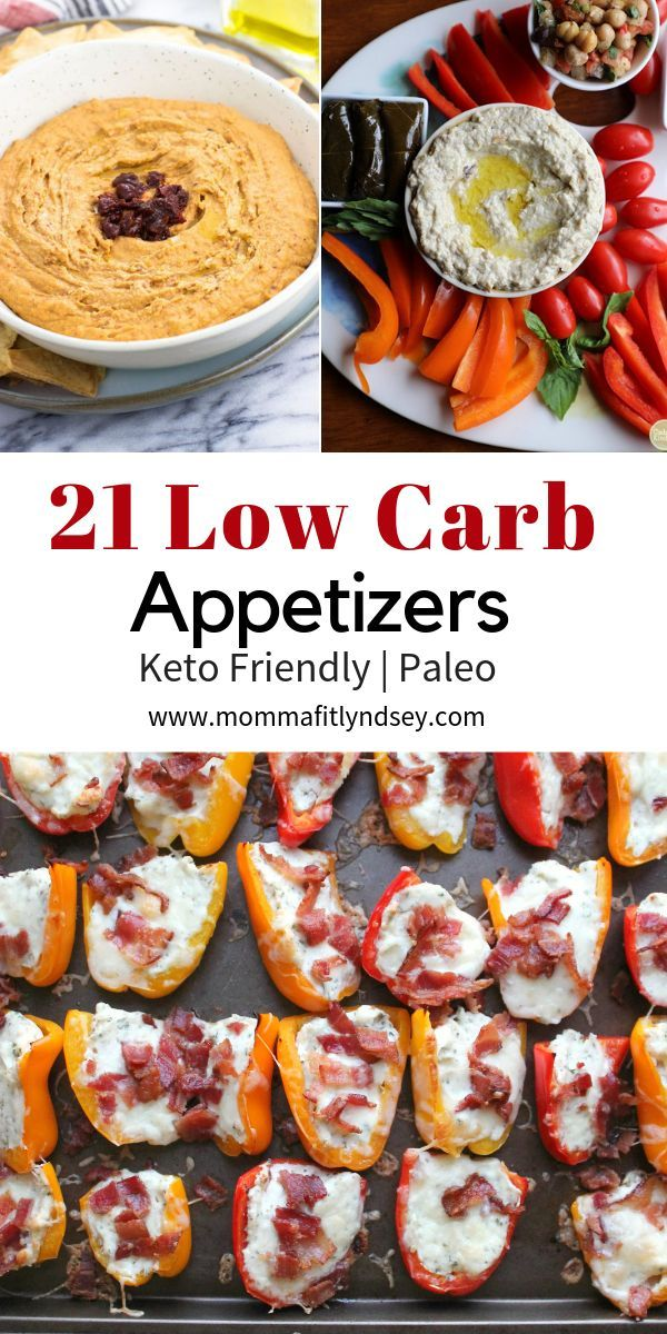 Low Carb Appetizers 21 Healthy Appetizers for the