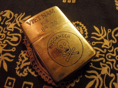 "Vintage Vietnam Zippo Lighters | VIETNAM ZIPPO LIGHTER 69-70 ""HUE PRICE⇒14800YEN"