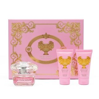 Versace Bright Crystal Women S Perfume Gift Set 110 Value Kohls Perfume Gift Sets Perfume Gift Versace Bright Crystal
