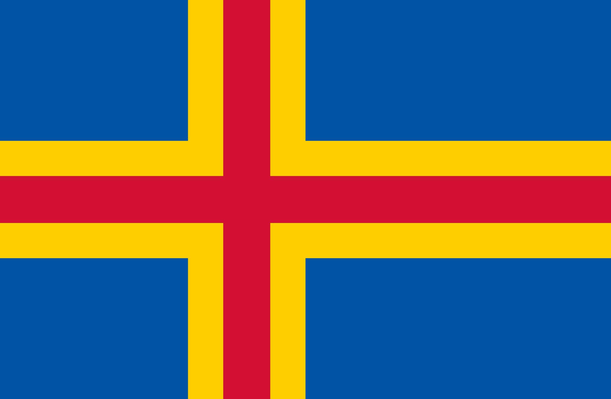 Land Flag Land Belongs To Finland