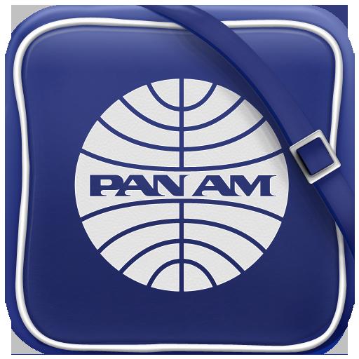 Pan Am iOs Icon by Marco Nenzi, via Behance Ios icon