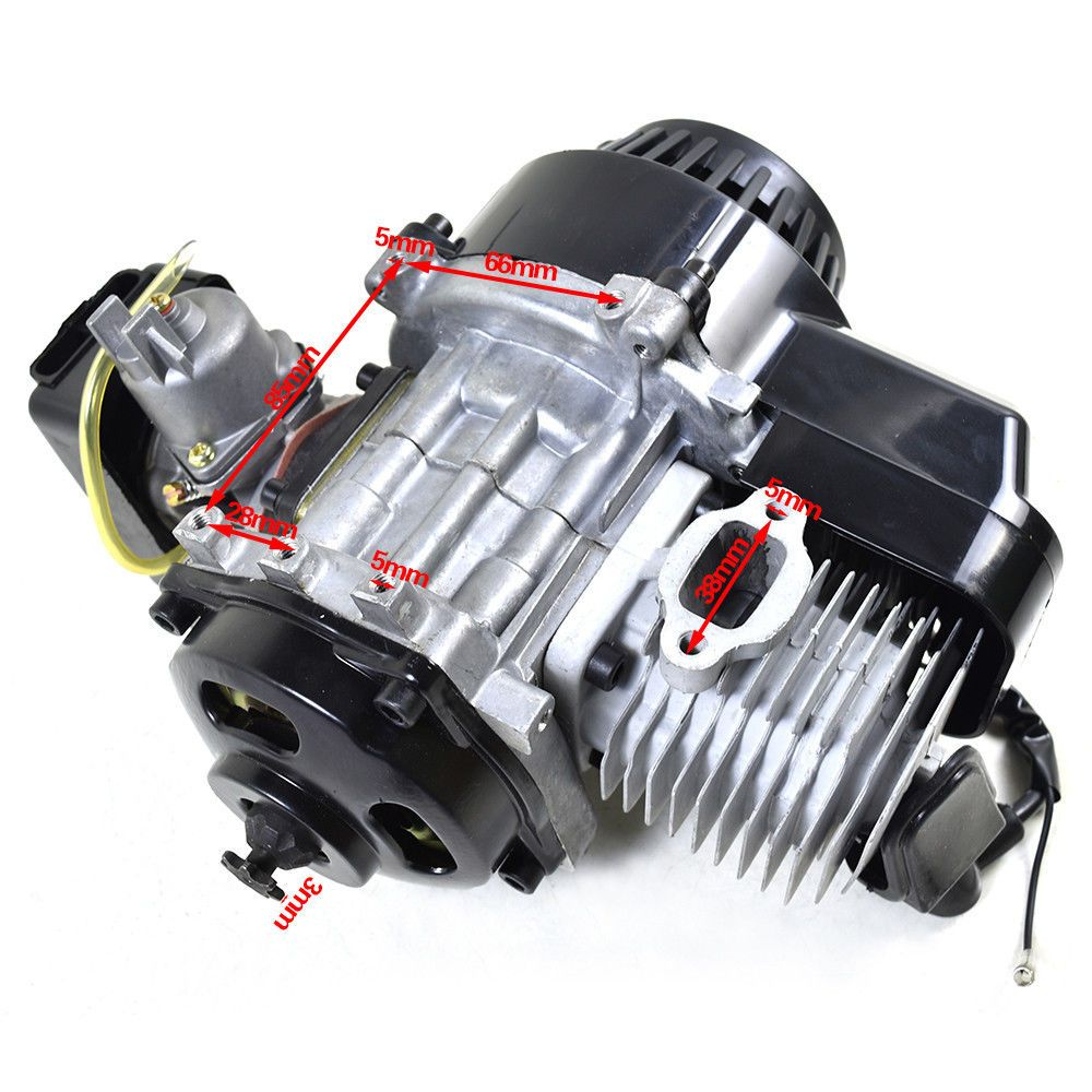 49cc 2-Stroke Bicycle Motor Gas Engine Motorized Mini Bike