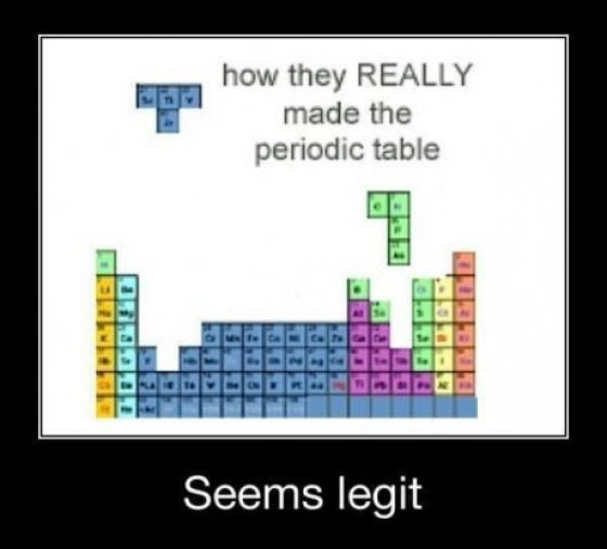 Demotivational Posters Things That Make Me Laugh Pinterest - best of periodic table puns