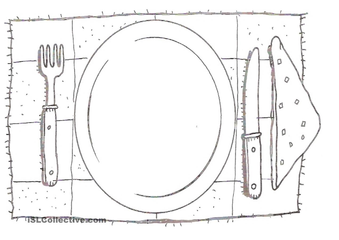 Draw Your Favourite Food Food Worksheets For Kids Art Lessons Draw Your Drawing worksheets free download