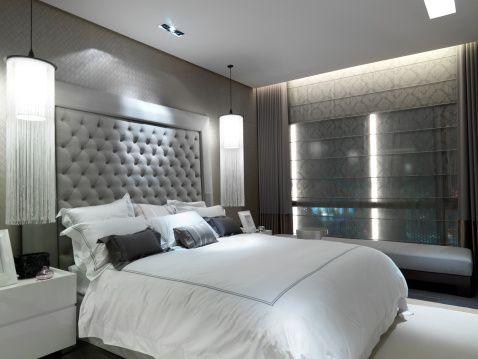 Silver Bedroom Ideas and Designs