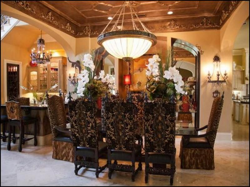 Old World Style Home Decorating Ideas for Dining Room rooms I