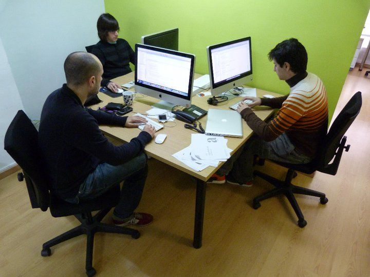 Shared working space = a shared desk = shared knowledge, opinions and friendships