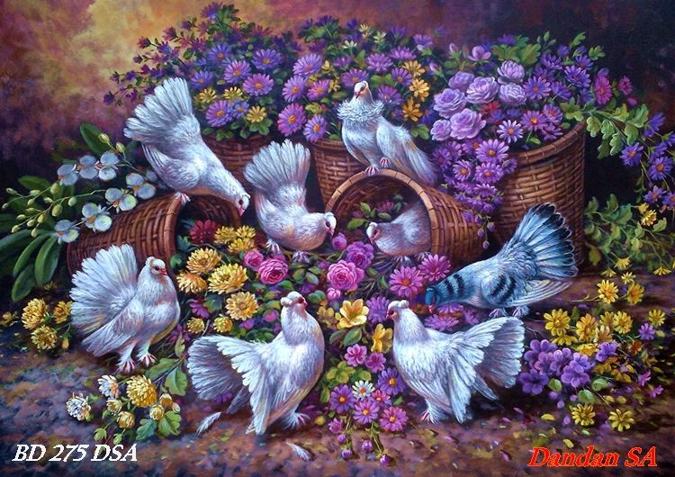 ! ART PAINTINGS By DANDAN SA - Web Lukisan Indah