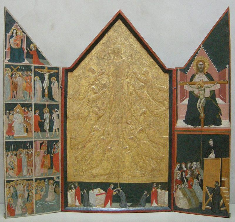Pacino di Buonaguida - Tabernacolo di Chiarito - 1340 ca. - J. Paul Getty Museum