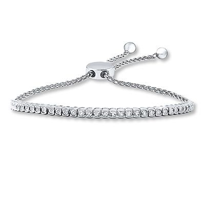 Bolo Bracelet 1 15 Ct Tw Diamonds Sterling Silver Products
