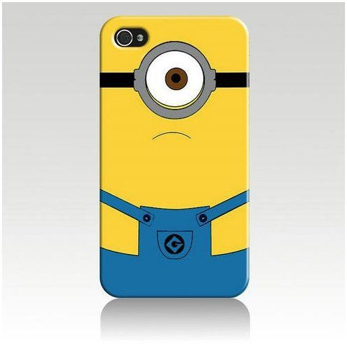 Despicable Me Hard Case Cover Skin for Iphone. For my lil sis Michelle Oldridge lol