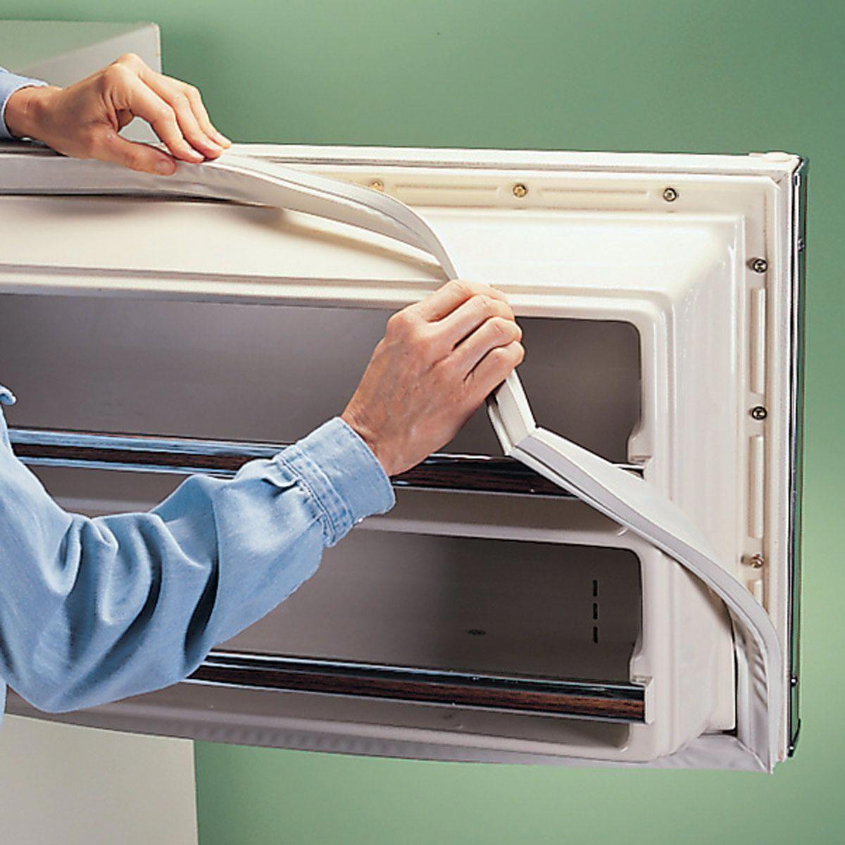 3 Tips On How To Replace A Refrigerator Door Gasket Homeremodelingdiy Refrigerator Repair Door Seals Home Improvement Loans