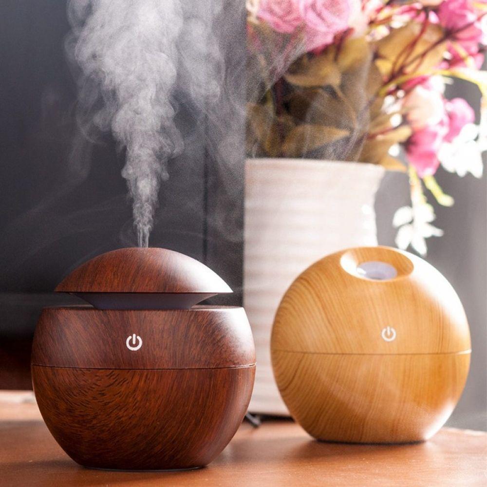 USB Round Aroma Essential Oil Diffuser Aroma essential