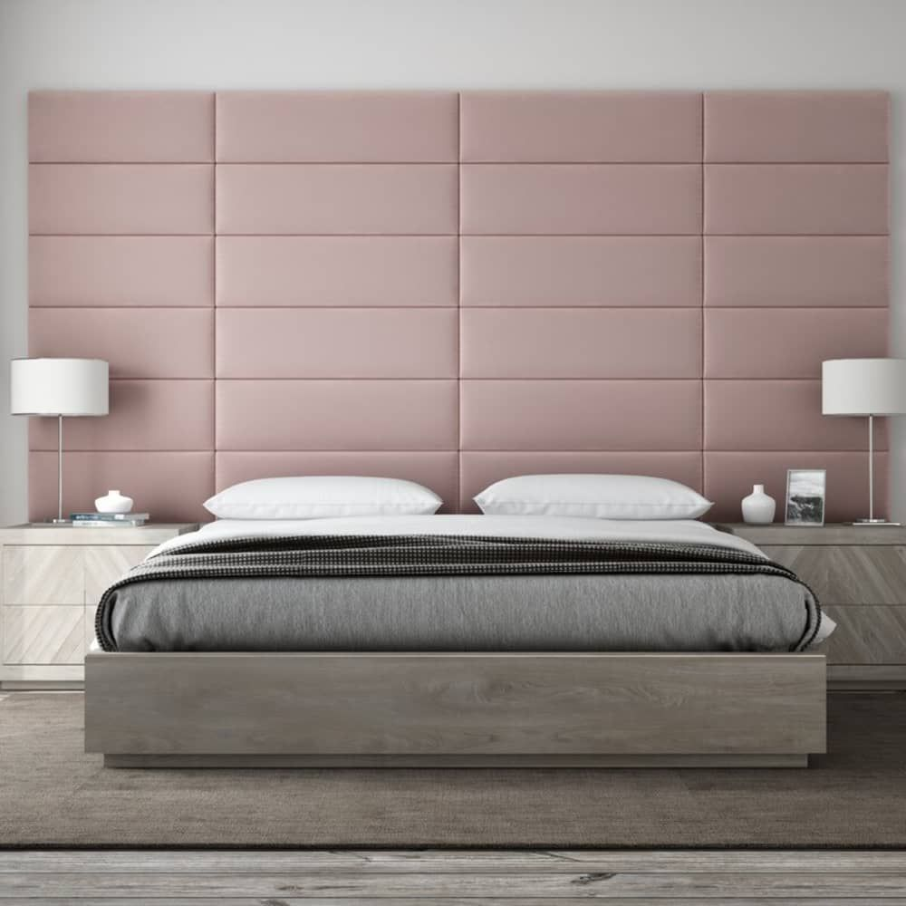 This Hotel Approved Headboard Trick Is The Secret To A Better Night S Sleep In 2020 Upholstered Panels Bedroom Headboard Headboard