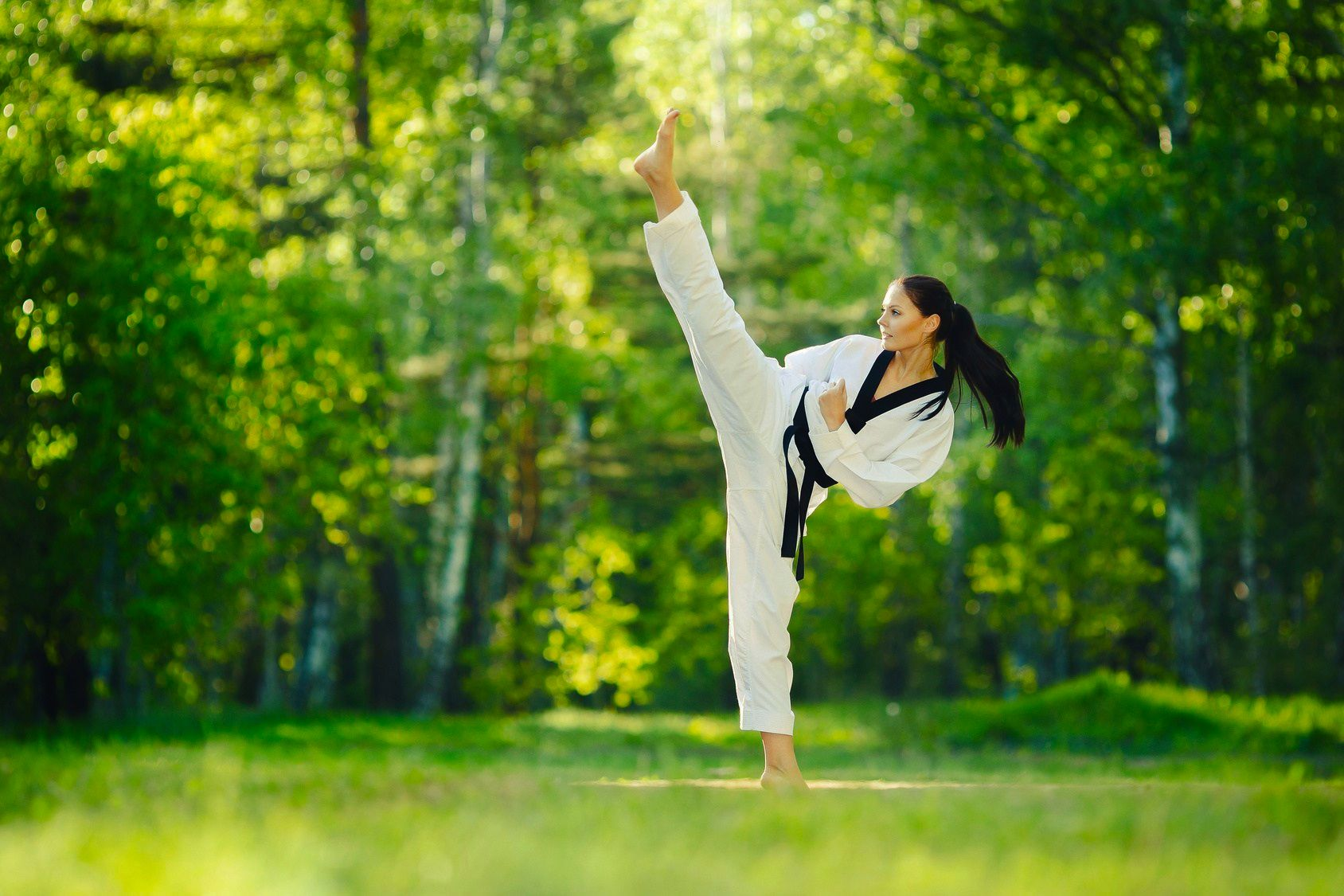 People who have indulged in practicing martial art have
