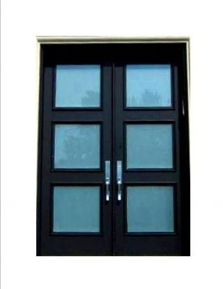 Exterior Door. Alternative To French Or Sliding Doors That Open Out On Deck