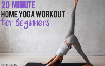 20 minute full body home yoga workout for beginners with