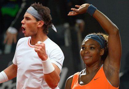#KingofClay Rafa Nadal & #QueenofClay Serena Williams --- 2013 French Open Champions! Rafa is an 8X Roland Garros Champion & Serena is a 2X Roland Garros Champion. #TEAMSERENA #VamosRAFA!