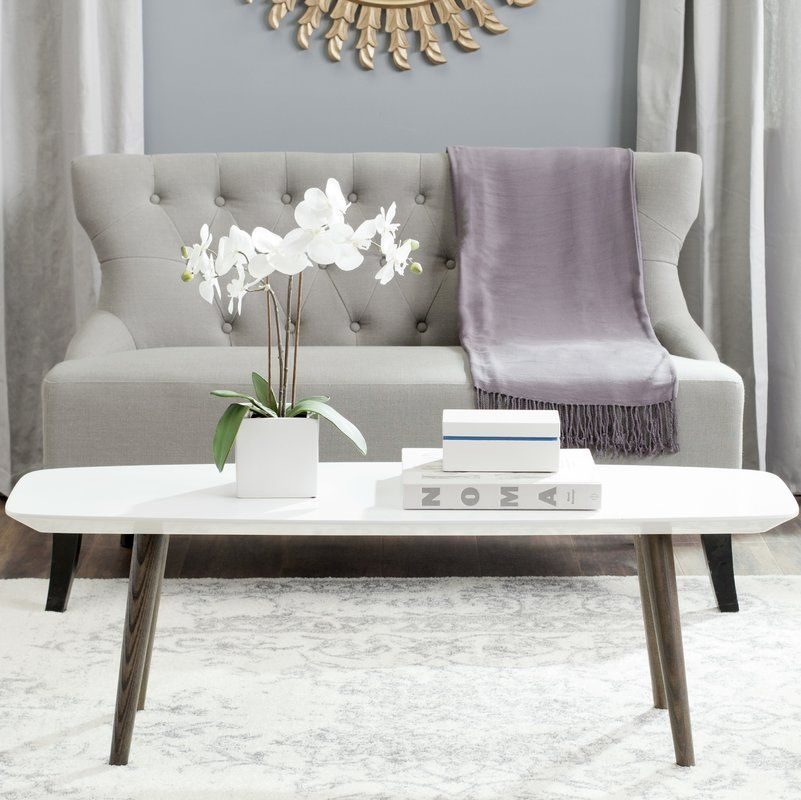 Perfect For Showcasing Framed Family Photos And Lush Blossoms In The Living Room Or Den This Contemporary Chic Coffee Table Showcases A Glossy White Top