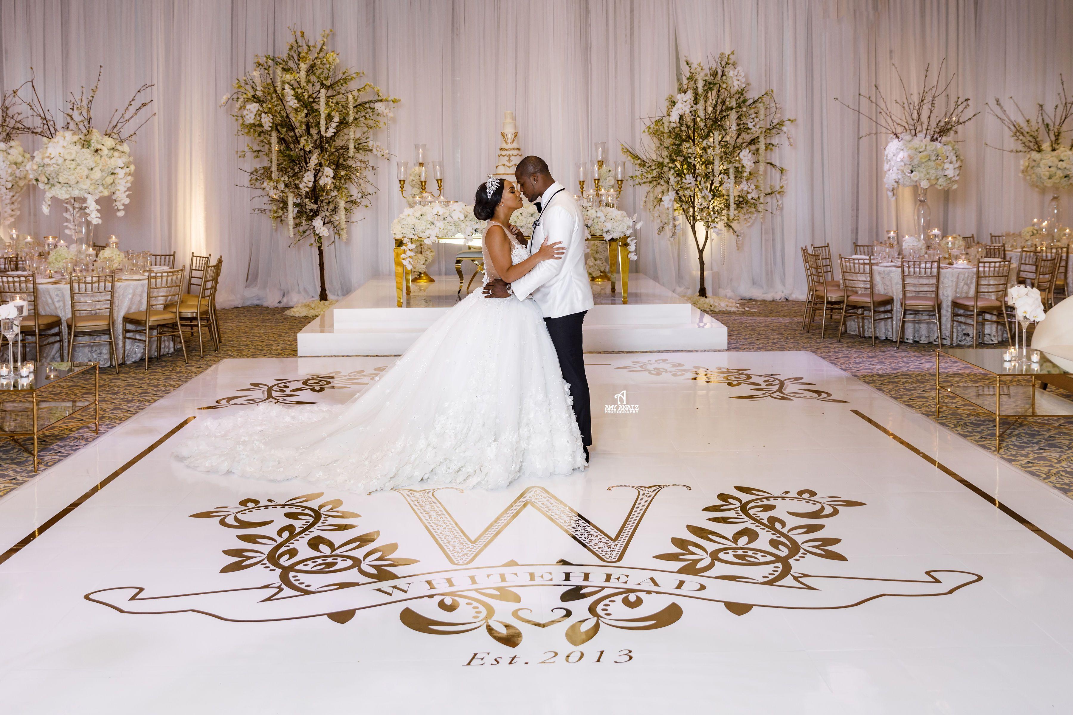 Dance floor wraps in florida wedding goals wedding
