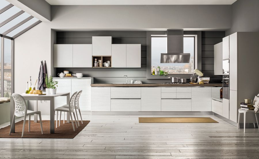 Cucine Moderne Ad Angolo Con Finestra. Snaidero Cucina Skyline ...
