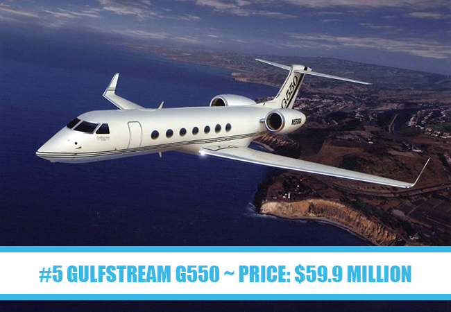 Worlds most expensive private jets