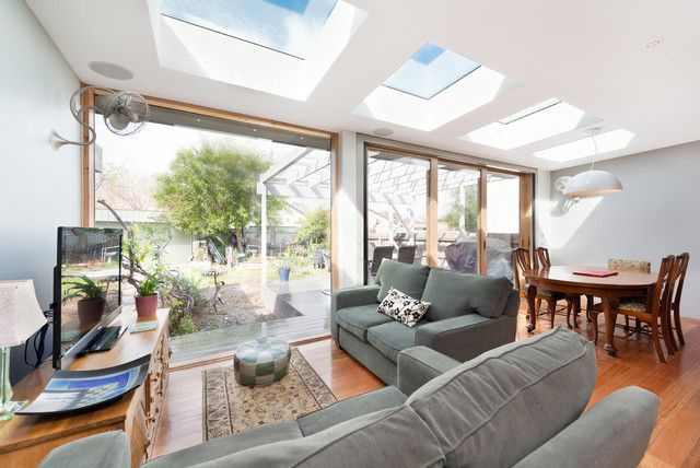 The Thornbury Extension Contemporary Living Room Melbourne In Living Room Extension Ideas Decor Living Room Extension Ideas Contemporary Living Bungalow Design Living room extension ideas uk