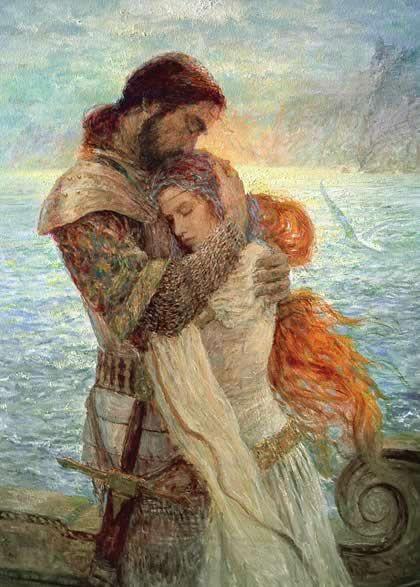 The legend of Tristan & Isolde