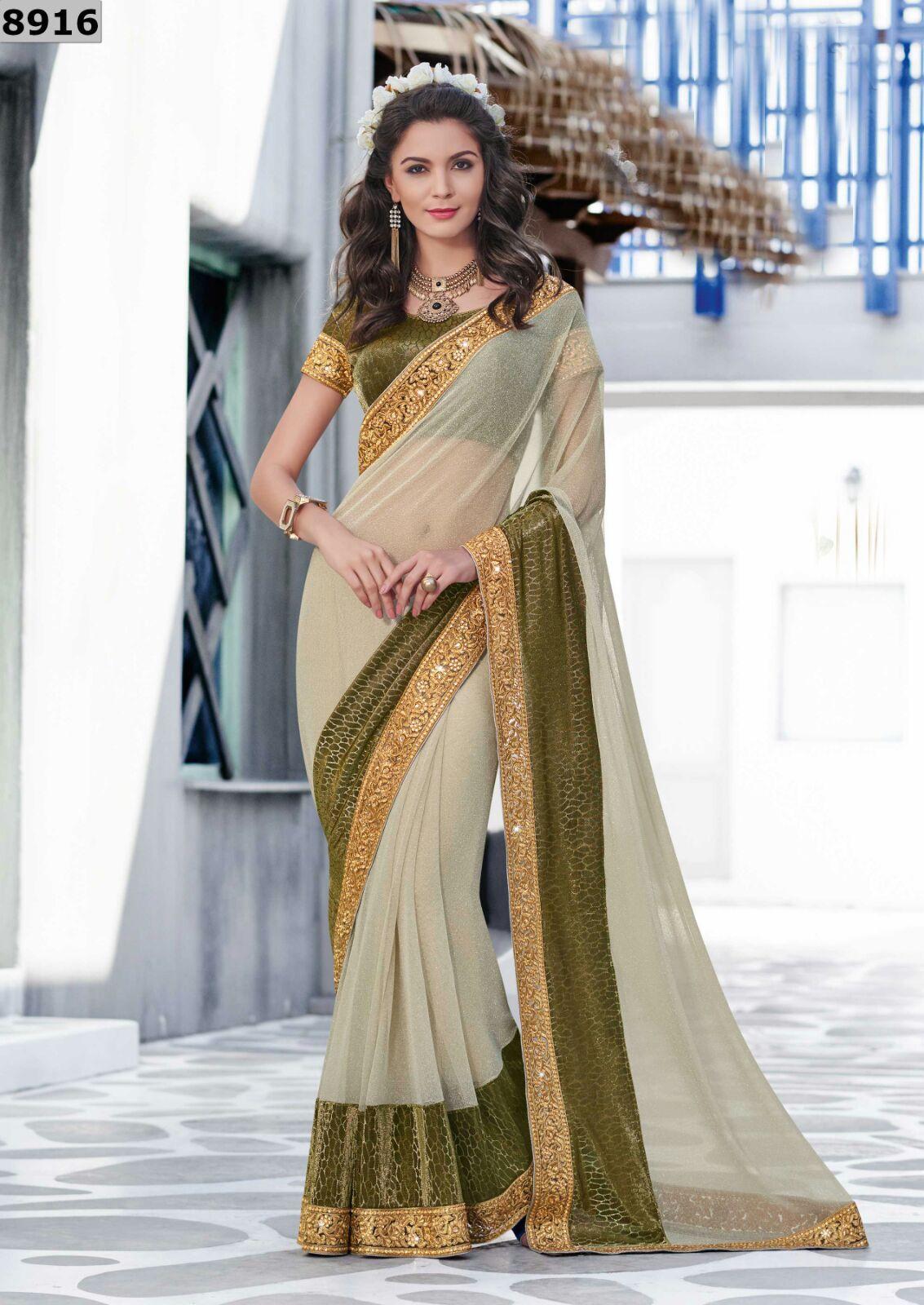 Sari wedding dress  Pin by Jahnara Collections on NIHARIKA SAREES  Pinterest  Saree