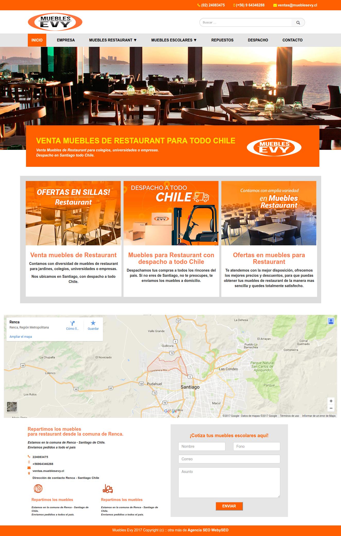 Venta muebles de Restaurant Contamos con diversidad de muebles de ...