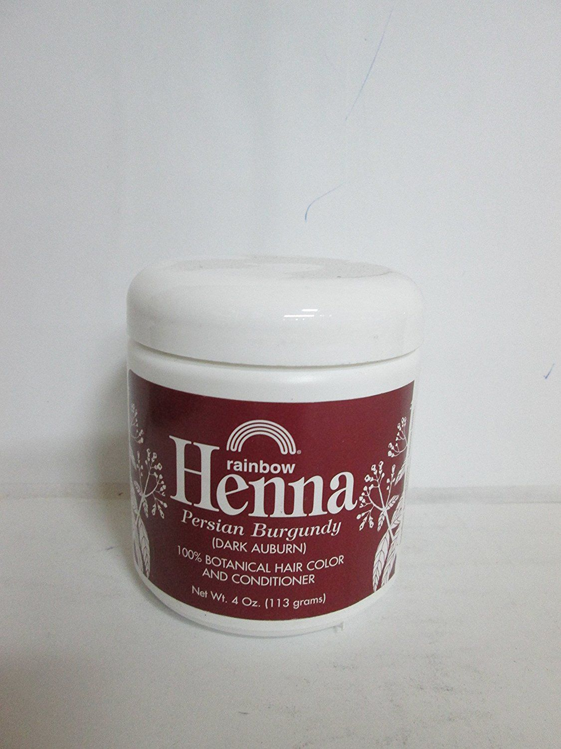 Rainbow Research Henna Hair Color And Conditioner Persian Burgundy
