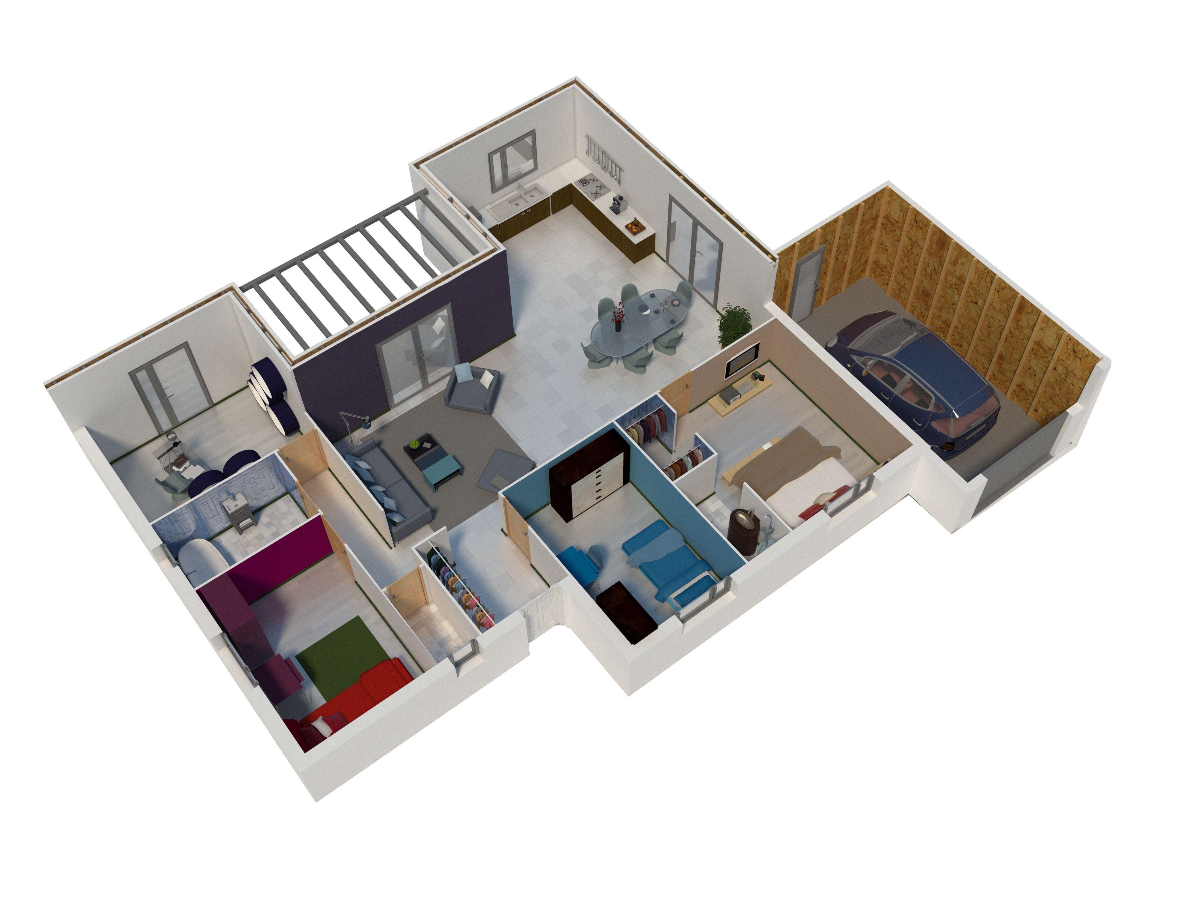 Plan Interieur Plan Maison