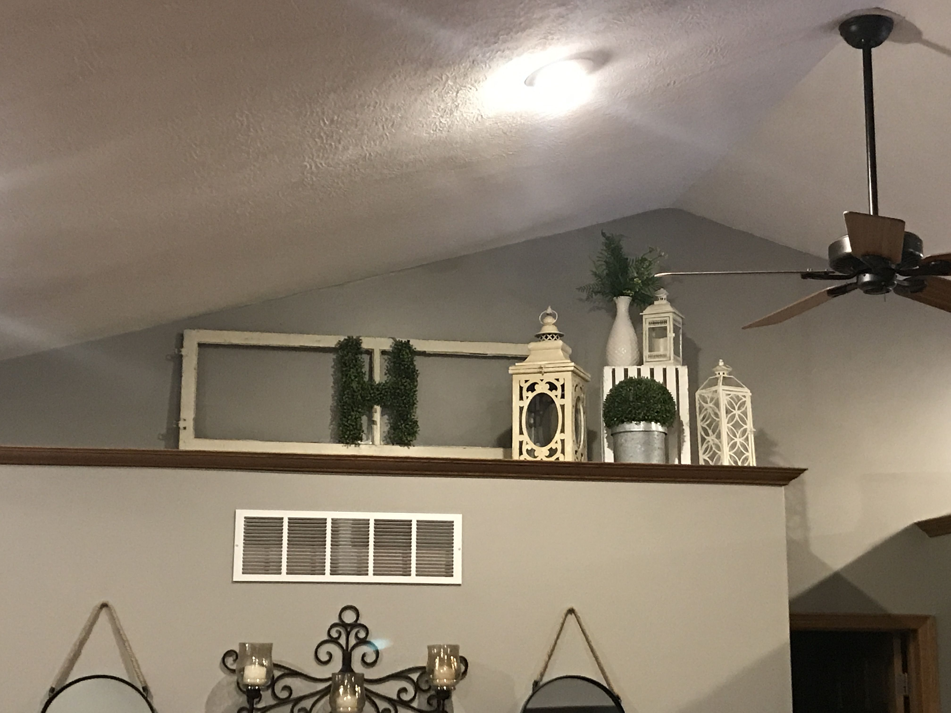 Vaulted Ceiling Ledge Decorating Ideas Novocom Top