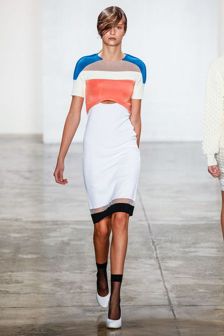 look 16 spring 2013 ready-to-wear by louise goldin