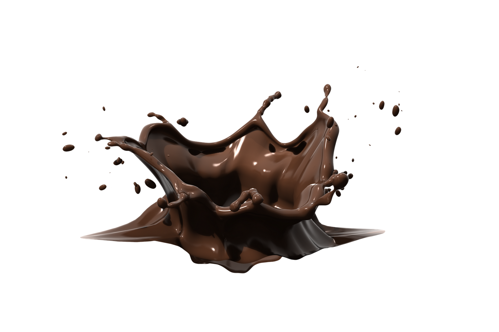 Splash Chocolate Logo Chocolate Milk Splash