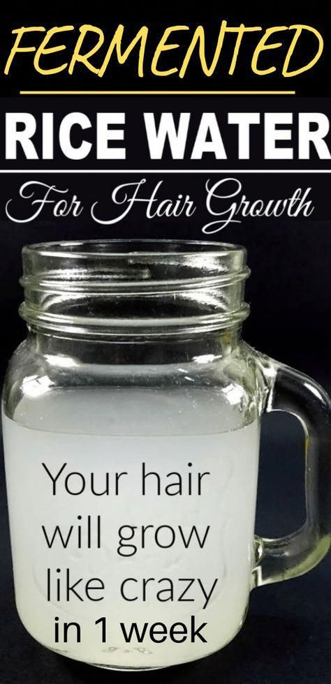 Here are 2 Powerful Rice Water Recipes For Healthy Natural Hair Growth In Just 1…