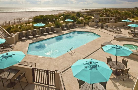 Shell Island Resort In North Carolina Is On A Wide Stretch Of Quiet Beach