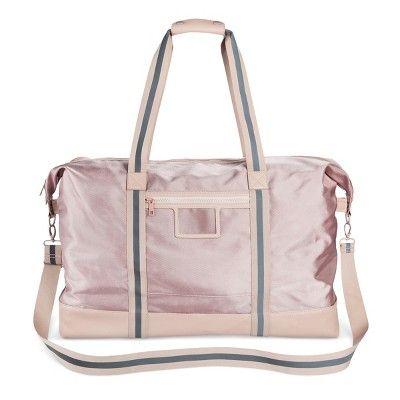 Women s Nylon Weekender Handbag - Mossimo Supply Co.™ Blush   Target ... 2c242cda5d