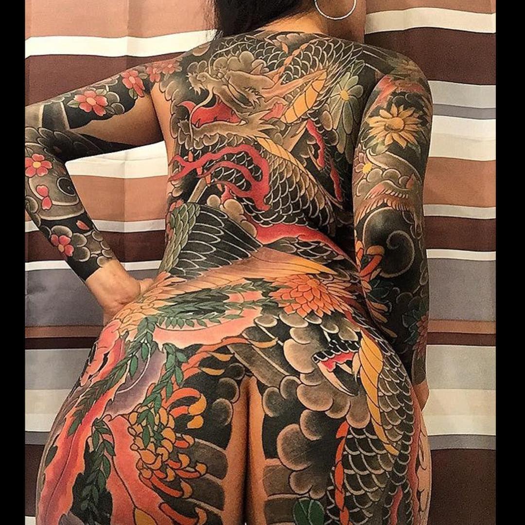 Ink blasted babe irezumi women for Full body tattoo women