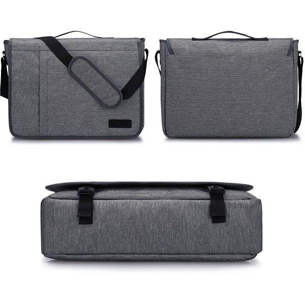 995b125c5f8 Men s Bags, Messenger Bags, S-ZONE Laptop Messenger Bag 15.6 inch Shoulder  Bag for Work College - Gray - CV184UY34ER  style  MessengerBags  mensbags  ...