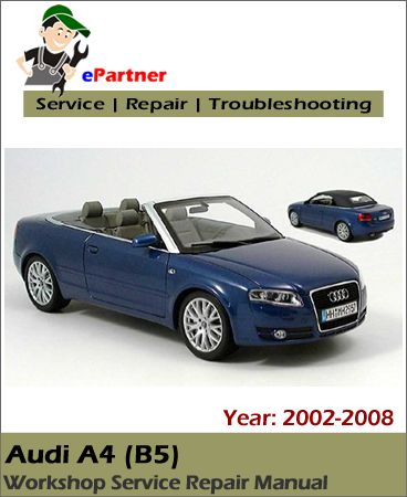 audi rs4 b7 workshop manual