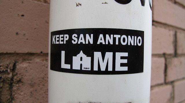 Keep San Antonio Lame San Antonio Weird Stickers Close To My Heart