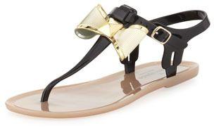 777fc541acb Kate Spade Fab Bow Jelly Thong Sandal on shopstyle.com. www.simplystine.com