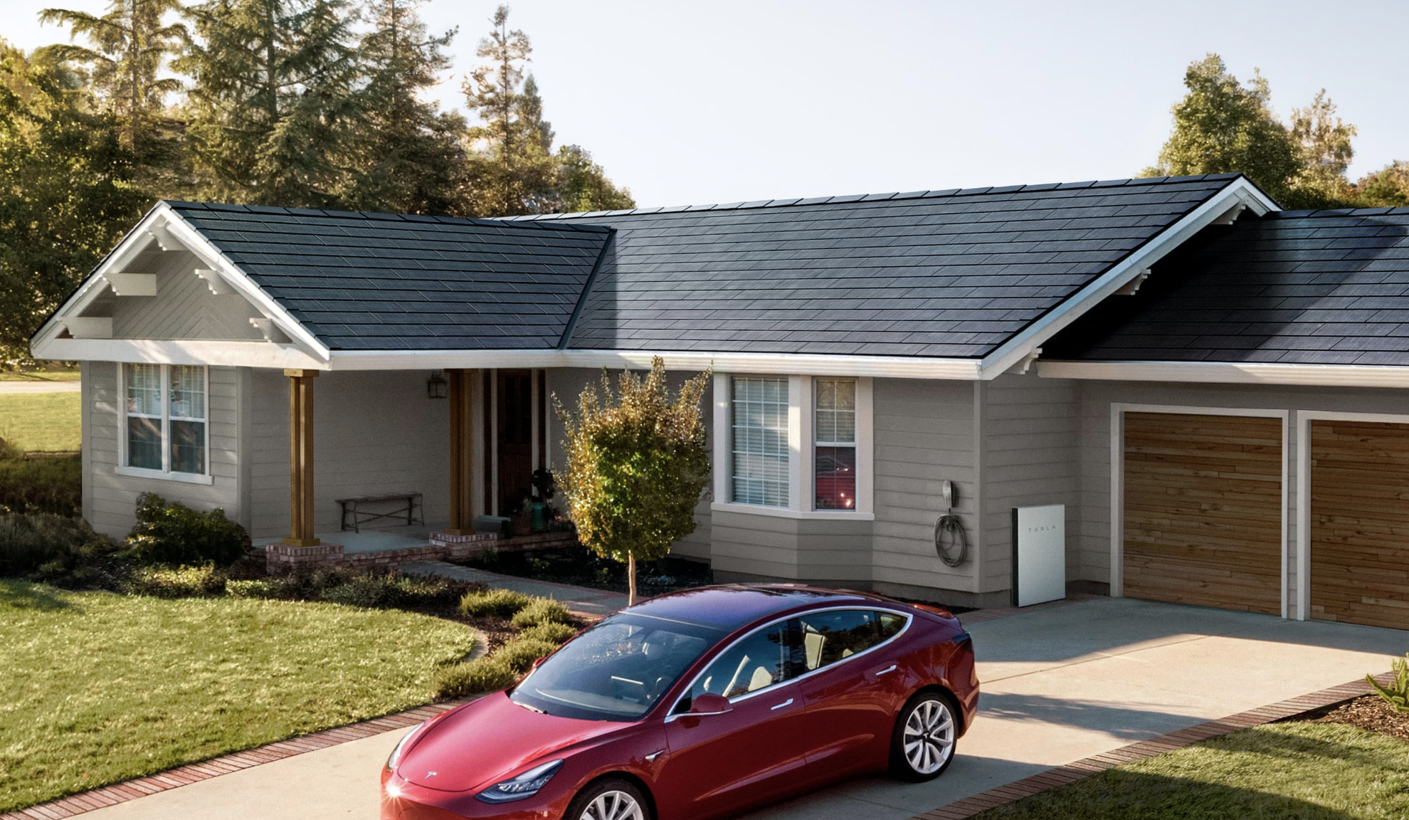 Tesla Unveils Its Easier To Install Solar Roof Solar Roof Tiles Solar Roof Solar Tiles