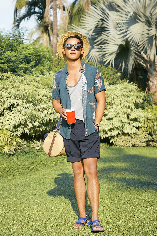 86627383f3 David Guison - - Pool Party | LOOKBOOK Pool Party Dresses, Beach Party  Outfits,