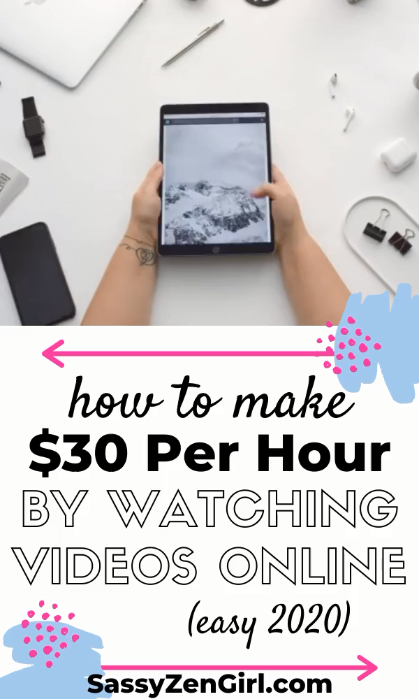 How To Make $30 Per Hour Just BY WATCHING VIDEOS O